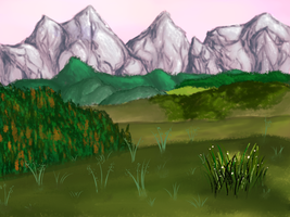 Landscape - Mountains by anrili