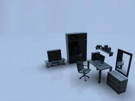 Cubicle by ladyrapid