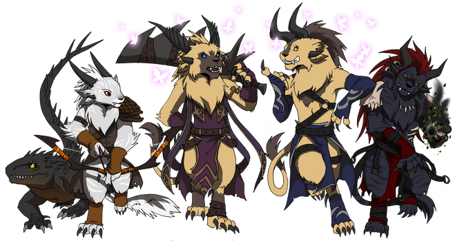 GW2: The Big Charr Collaboration by Qvi