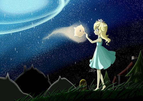 Rosalina and Luma's First Encounter by Crealivvity
