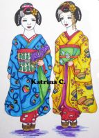 Promotional Art: Maiko by KatyCrayon