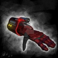 Concept Glove by Sadie-ink
