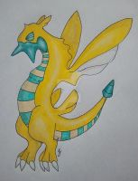 Sersparce- Dunsparce Evo by Torus333