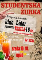 Poster za Lider-Tequila party by kraljevo
