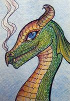 ATC: Sweet-Natured Dragon by Athalour