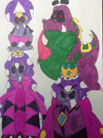 Redesigns-Shroob characters (spoilers) by Iwatchcartoons715