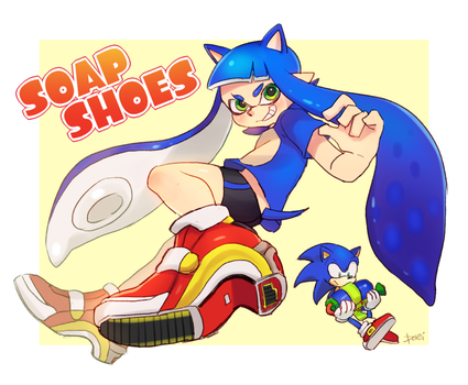 Inkling+Sonic+Soap Shoes by PoroiSasaki