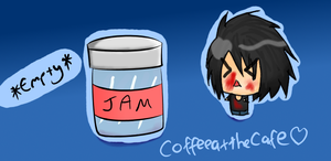 Empty Jam Jar by coffeeatthecafe