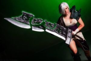 Riven the Exile by ScissorWizardCosplay