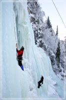 Ice climbing by raido-ehwaz