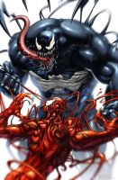VENOM and CARNAGE by grandizer05