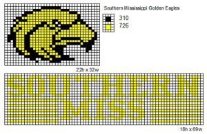 Southern Mississippi Golden Eagles by cdbvulpix