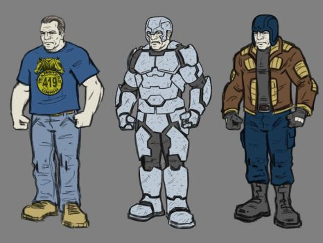 Lou character and costume designs 1 by Tim4