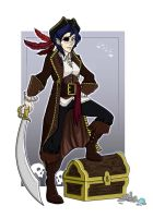 Halloween - Pirate Colour by Millster-Ink