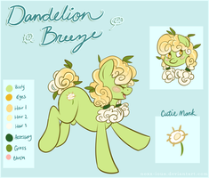 Dandelion Breeze Reference by NoxxPlush