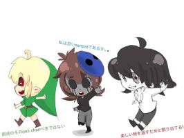Creepypasta chibis by PandDoodle