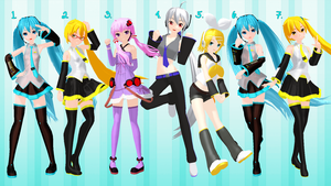 [MMD] Casual Girl Poses - DL by Snorlaxin