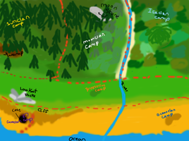 Coast Clans Map by TurkFish