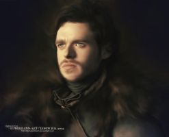 Rob Stark : Game of Thrones by RottonNymph