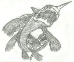 Unknown Life Form 17 - Cacharodon Gigalodon by Dark-EnigmaXIII