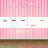 Moustaches Png by JhoannaEditions