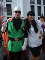 Gohan and Videl~~ by claudia1542