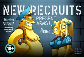 New Recruits: Present Arms! by Yb-HO7IK