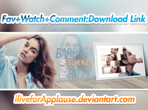 PSD Header BARBARA PALVIN COVER by iliveforApplause