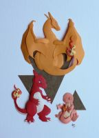 Kanto Fire Stater Final by Menitti