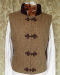 Steampunk-Victorian inspired waistcoat PCW13-20 by JanuaryGuest