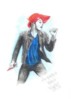 Gerard Way by Kiron07