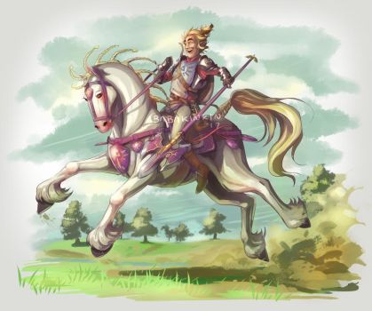 More Link and Horses stuff by BabaKinkin