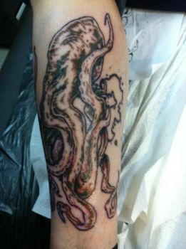 Octopus Tattoo Two by crossbonestyle