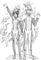 HG Tributes of District 12 by Juli-Yashka