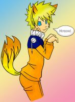 Foxy Naruto-chan by Queen-Of-Anime