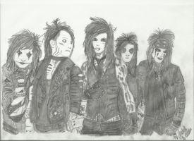 black veil brides by xxdaswarwohlnix