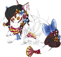 Sugon Hatchling~ Geisha by costume-cat
