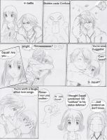 FF8 collab comic: 'Confused' by Yushi