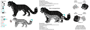 Habu and Lily Ref Sheet by TheRealBlackLion