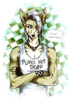 Seth - punks not dead by oomizuao