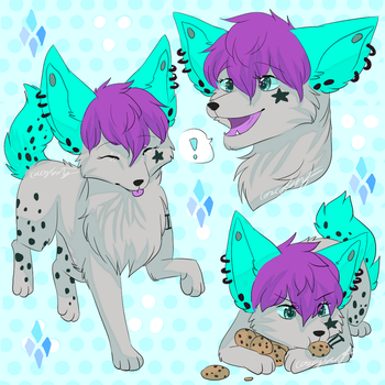 Ashy Sketchpage by CascadingSerenity