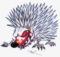 hedgehog by Drivill