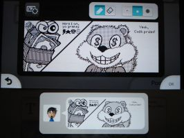 Miiverse - Conker and his Cash Prizes by MAST3RLINKX