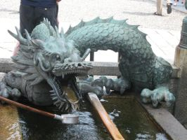 Shinto Water Dragon by thedudewithstuff