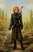 Autumn Ranger by SirTiefling