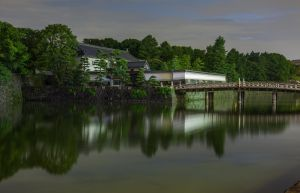 Dusk Falling On Imperial Palace by Quit007