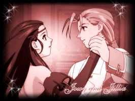 Jowy and Jillia from Suikoden by lunaesque