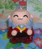 Uncle Iroh keychain figure by kneazlegurl125