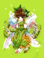 Original Character04 -Green Fairy- by hinayume