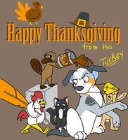 Happy Thanksgiving 2014 by LassiTheDawg